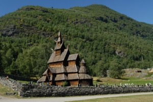 Norvegia, wooden church