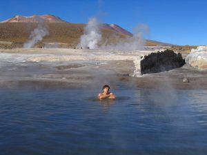 El Tatio gejzír, Chile