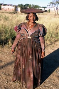 Namibia, herero woman