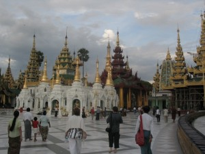 Yangoon, Shwedagon pagoda