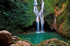 Caburni waterfall Kuba