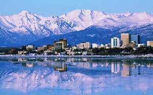 USA, Alaszka, Anchorage