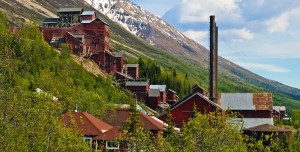 Alaszka - Kennecott National Historic Landmark