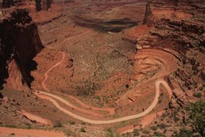 Canyonland, island on the sky, USA körutazás