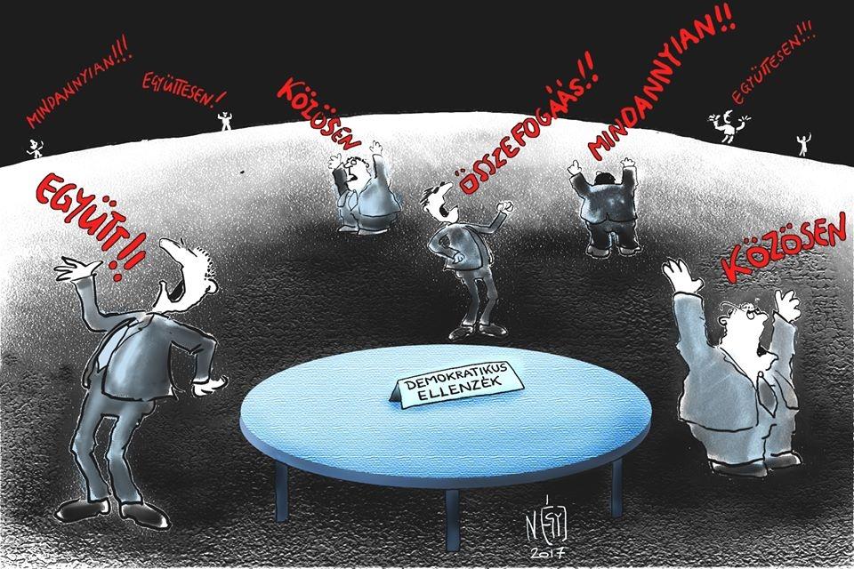4 madar, demokratikus ellenzék