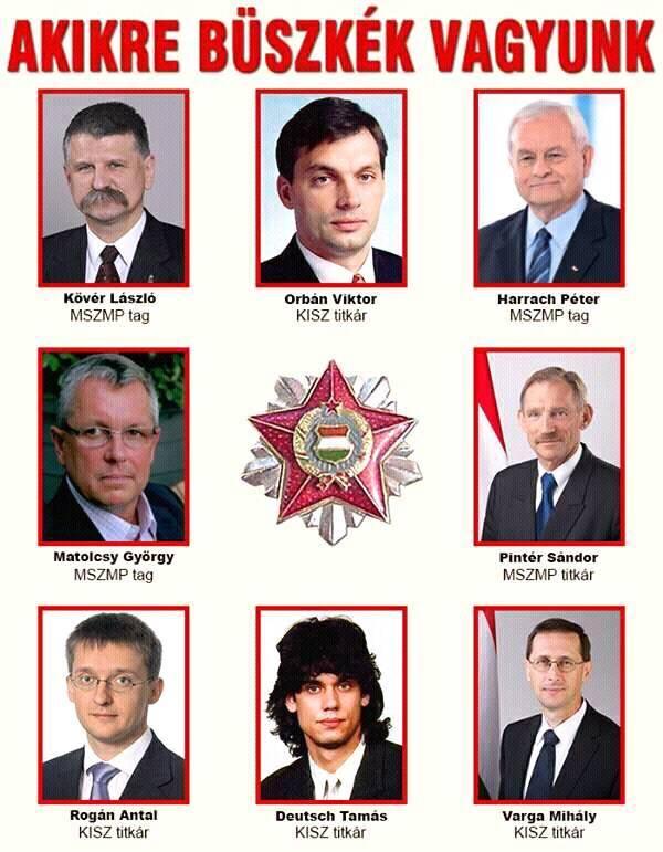 orbán párt csapata