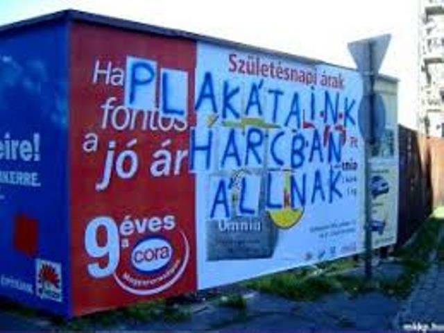 plakátjaink harcban állnak
