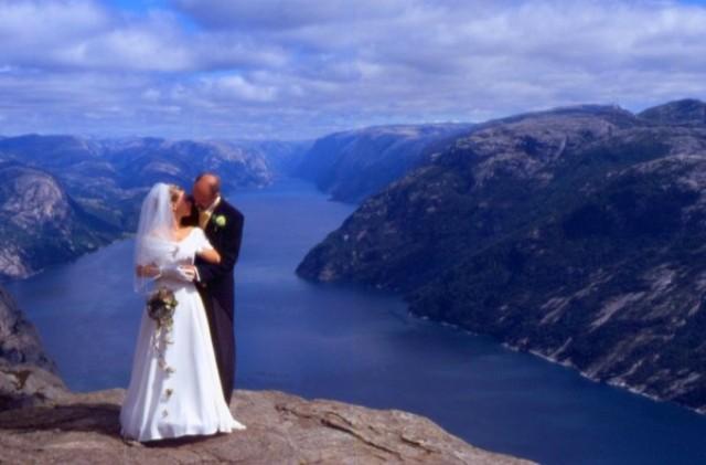 Norvégia , Preikostolen