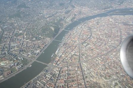 Budapest, feleti légifelvételem