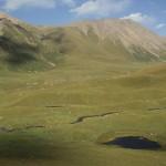 Kirgiz, trekking around Altyn