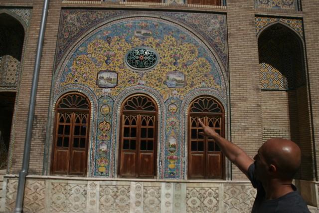 Tehrán, Golestan palota, Irán