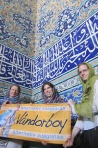 Irán, Iszfahan, arabeszkek