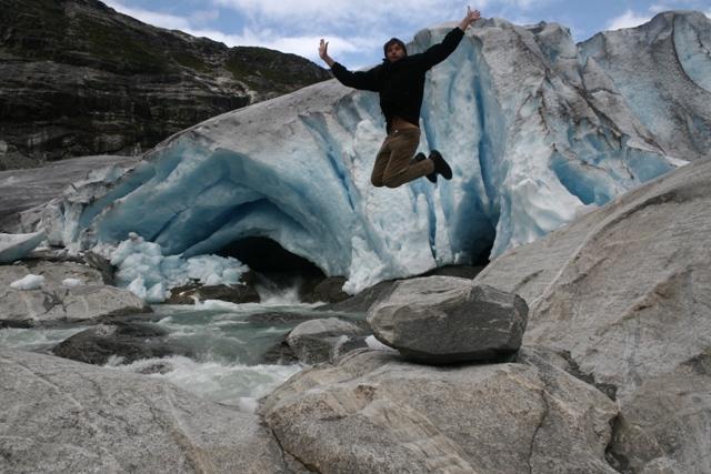Norvég Jotsedalbreen gleccser