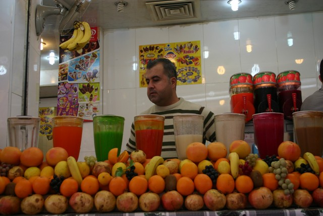 Erbil piac, Kurdisztán