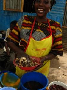 Niger, jókedvvel az ebédhez