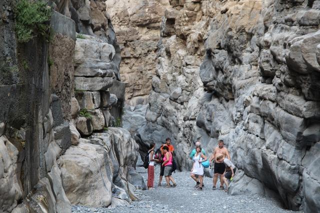 Oman Grand kanyonja