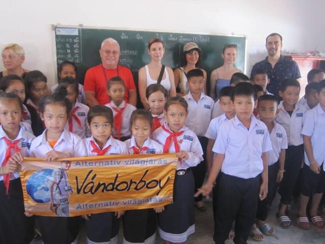 Laosz, úttörők