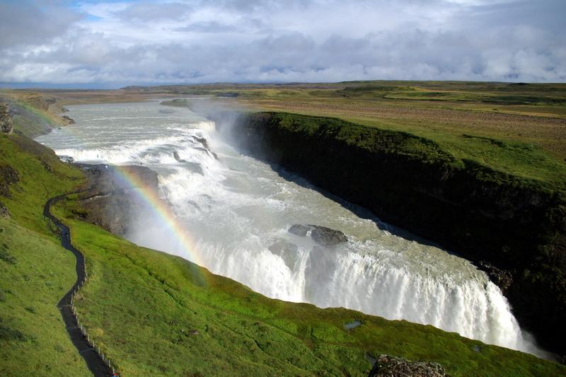 Gullfoss, izland