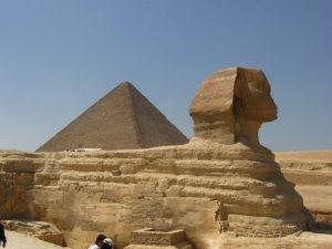 Egyiptom, szfinkx, Kairo