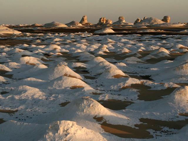 Fehér sivatag, White desert - Farafara