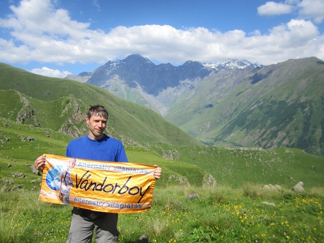 Kazbegi nagy trekking