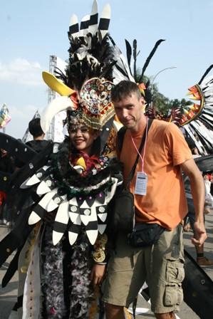 Indonézia Borneo 2014
