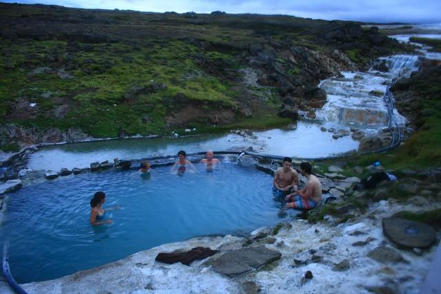 Spa, Izland, Hveravellir
