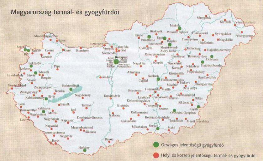 gyógyturizmus, magyarországon