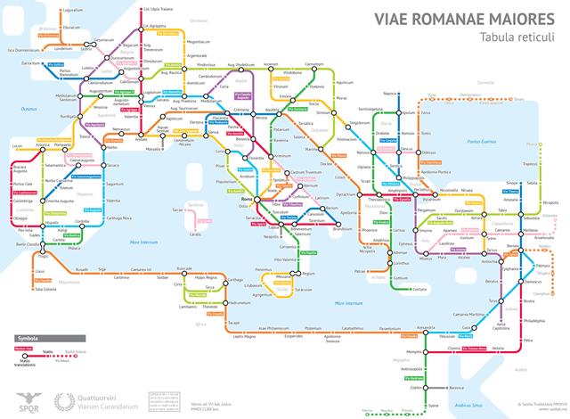 Római úthálózat