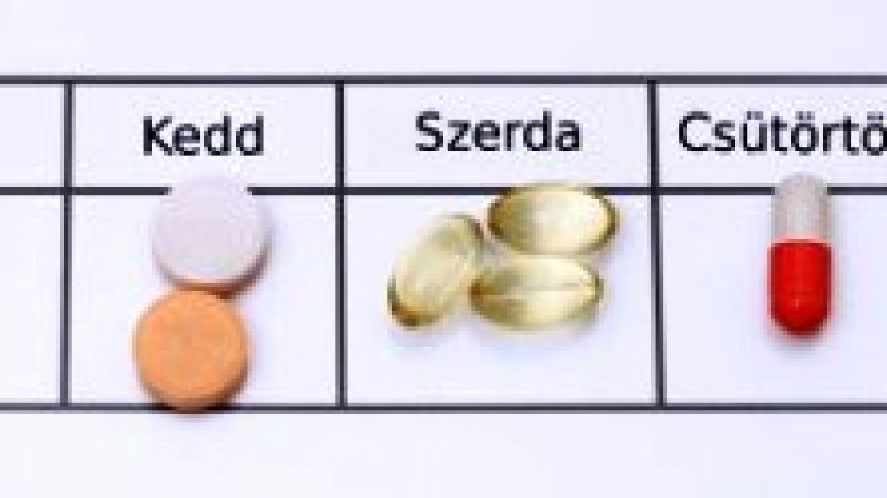 gyógyszerek adagolása